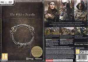 Details about The Elder Scrolls Online - Jeu Mac/PC [DVD Rom] neuf