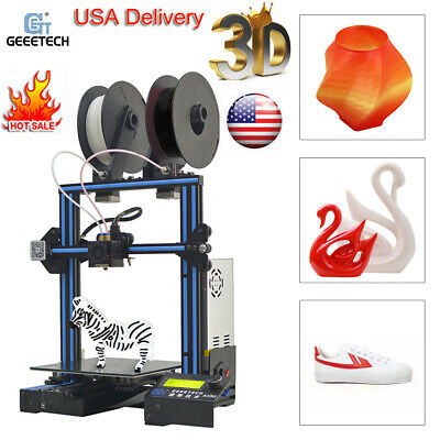Geeetech 3D Printer A10M 2 In1 Out Mix-Color Dual Extruder