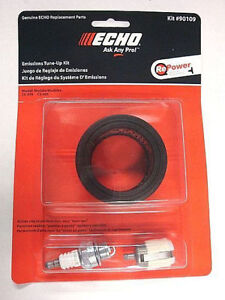 echo chainsaw air filter fuel filter sparl plug kit cs. Black Bedroom Furniture Sets. Home Design Ideas