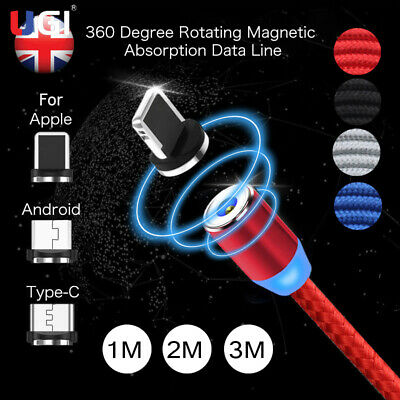 3M 3in1 360° Rotate Round Magnetic LED