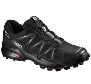 Salomon-GTR-4-383130-schwarz-black-schwarz-metallic-Herren-Wanderschuhe-Wanderstiefel-Schuhe