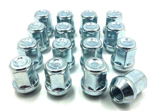 clavos, 16 X Aleación Tuercas de Rueda para Volvo V50 M12 X 1.5 19MM Hex 4 pernos Lugs