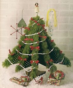 Details About Ornaments Standing Tree Holiday Patterns 1909 Macrame Holiday Christmas Decor