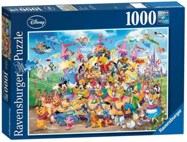 Ravensburger Disney Carnival Multicha 1000pc Jigsaw Puzzle For Sale Online Ebay