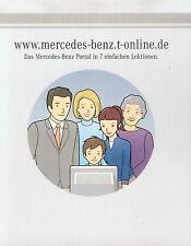 Mercedes-Benz Internet-Portal Prospekt ca 2002 brochure