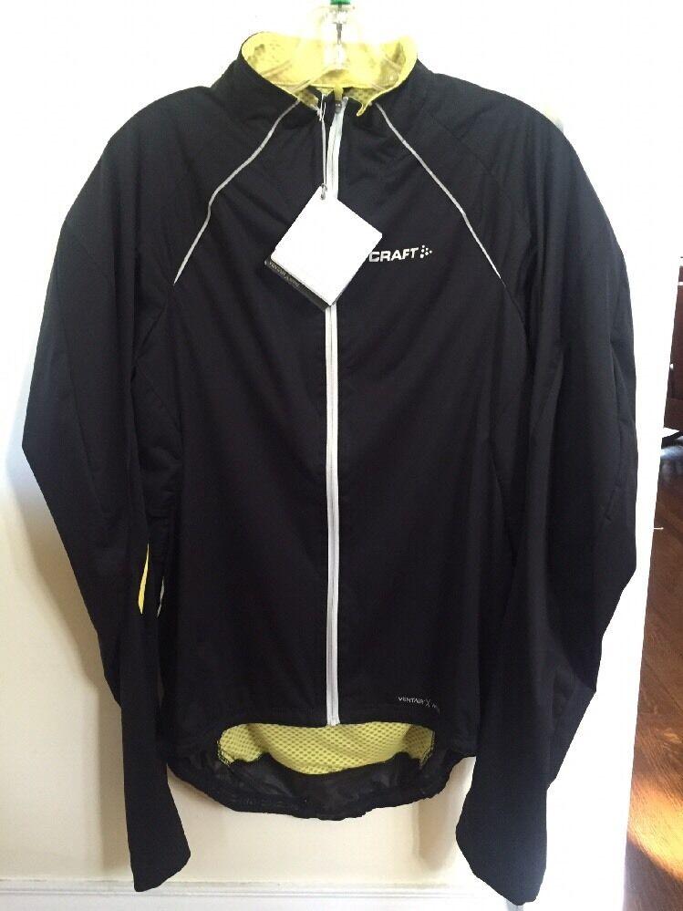 Nouveau CRAFT Elite Veste Taille XL Noir 1900006U