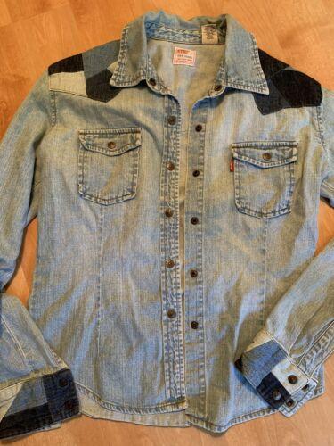 Levis Vintage Women's Denim Work Shirt