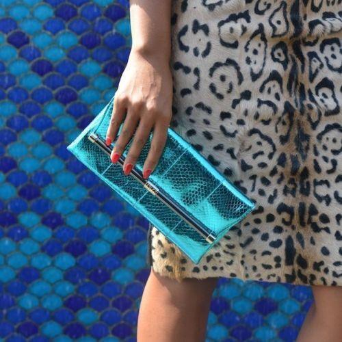 Authentique Diane 440 Bleu Canard Métallique Furstenberg Neuf Dvf Von Enveloppe gdwxcxEqT