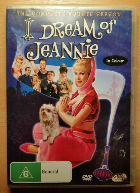 DVD - I Dream of Jeannie The Complete Fourth Season 4 - 4 disc set - PAL R4