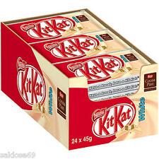 24 Kitkat Schokoriegel White Nestle a 41,5g weiß weiße Riegel