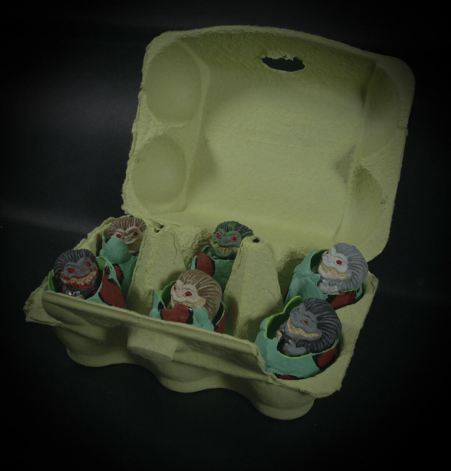 Critters Mini Figura 1,5  horror 80' movie eggs box