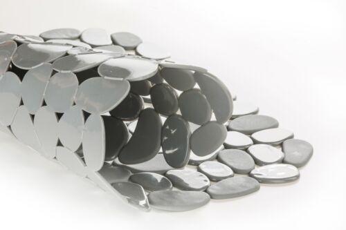 Circul 40x31 cm Grau Spülbeckenmatte Spülmatte Spülbeckeneinlage Matte Stein