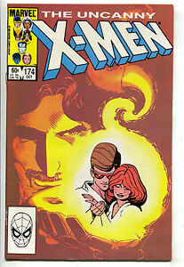 Uncanny-X-Men-174-Marvel-1983-NM-Wolverine-Starjammers-Colossus-Cyclops