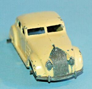 DINKY TOYS MECCANO ENGLAND ORIGINALE #30a CHRYSLER flusso d'aria aerodinamico Berlina 1946
