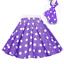ROCK-N-ROLL-POLKA-DOT-SKIRT-21-034-Length-039-50s-GREASE-LADIES-FANCY-DRESS-COSTUME Indexbild 19