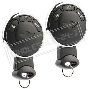 2 replacement for 2011 2012 mini cooper countryman key fob remote ebay. Black Bedroom Furniture Sets. Home Design Ideas
