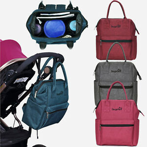Diaper Changing Backpack Mummy Bag Baby Stroller Hanging Bag Rucksack Handbag