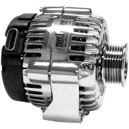 Tuff Stuff Alternator 8237A; AD230 AD244 145 Amp Chrome OE-Wire w// 6G Pulley