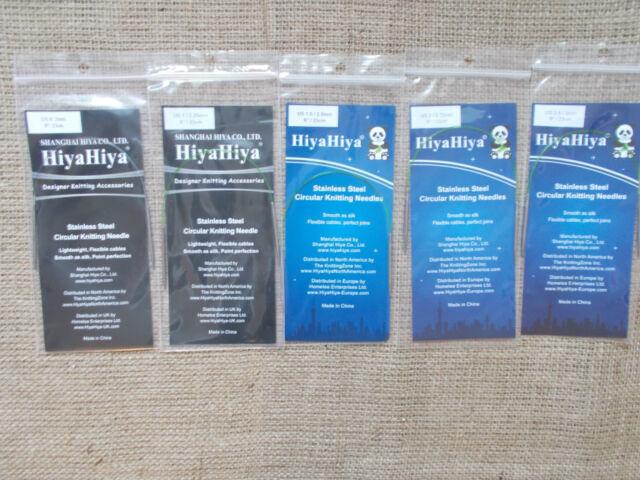 Hiyahiya Acciaio Inox Circolari da Magli Ferri, 23cm/22.9cm