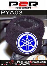 Polsino copri serbatoio olio freni moto Yamaha blu oil tank cover
