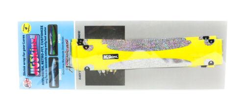 7578 Jigskinz JZGHY-2//4 Hologlowphic Yellow 190 x 70mm x 4 pieces Size 2