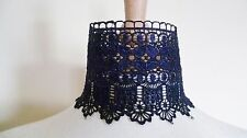 Blue Venise Lace Choker Victorian Necklace Medieval Pagan Steampunk Gothic Lace
