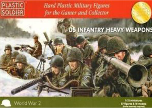 US Infantry heavy weapons Plastic Soldier WW2020007 1:72
