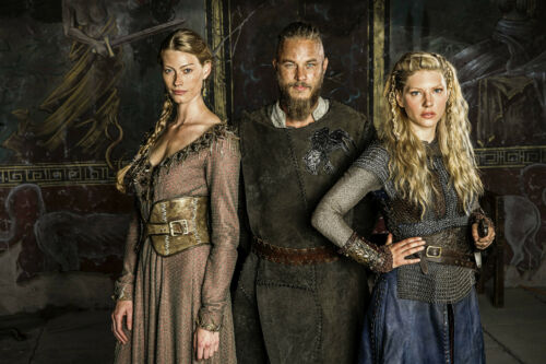 Encadré Imprimé Viking Ragnar Lothbrok Lagertha Lothbrok Reine Aslaug Image