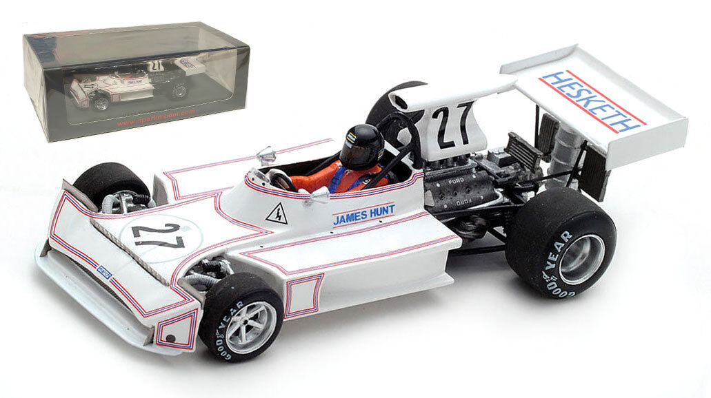 Spark S5366  March 731  27 'Hesketh' Monaco GP 1973 - James Hunt 1 43 Scale  les promotions