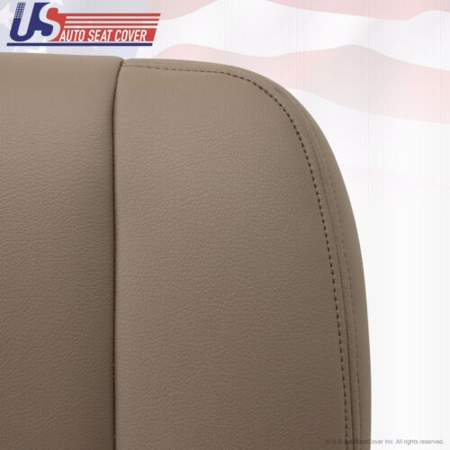 Driver Side Bottom Replacement Vinyl Seat Cover Tan Fit 2001 2002 Toyota Tundra