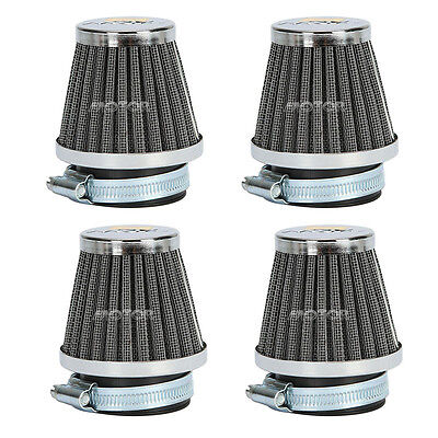 4x Motorcycle 39MM Air Filters For SUZUKI GS550 GS550E GS550L 1977 1978 1979