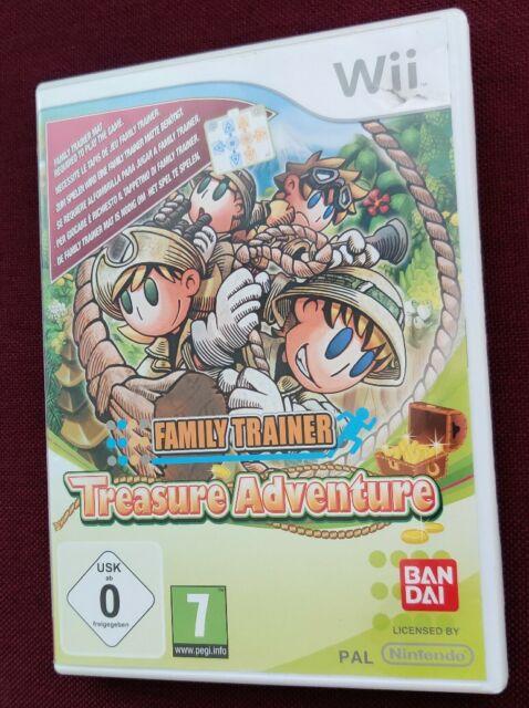 Jeu Family Trainer Treasure Adventure pour Nintendo Wii - Pal Version FR