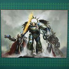 Triumvirate of the Primarch Kunstdruck A4 Space Marines Warhammer 40K