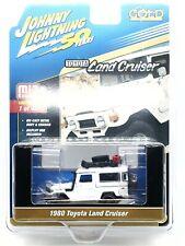 Johnny Lightning 1/64 off Road 1980 Toyota FJ Land Cruiser 4x4 White JLCP7209