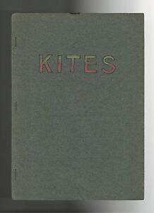 Kites One Off Handmade Booklet School Project? Incls. 1926 kite tournament flyer