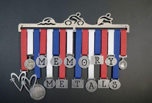 Triathlon Medal Display Metal Hangar