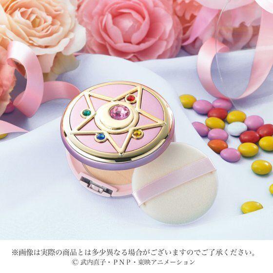 [Stock]Premium Bandai Sailor Moon Miracle Romance Shining Moon Powder Flat Style