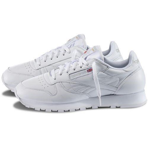 Reebok Cl Clásico Cuero blancoo 9771 calzado de hombre original