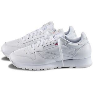 445aa66232a Image is loading Reebok-CL-Classic-Leather-White-9771-Original-Shoes-