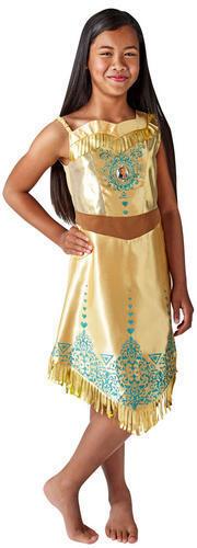 Pocahontas Gem Princess Girls Fancy Dress Disney World Book Day Childs Costume
