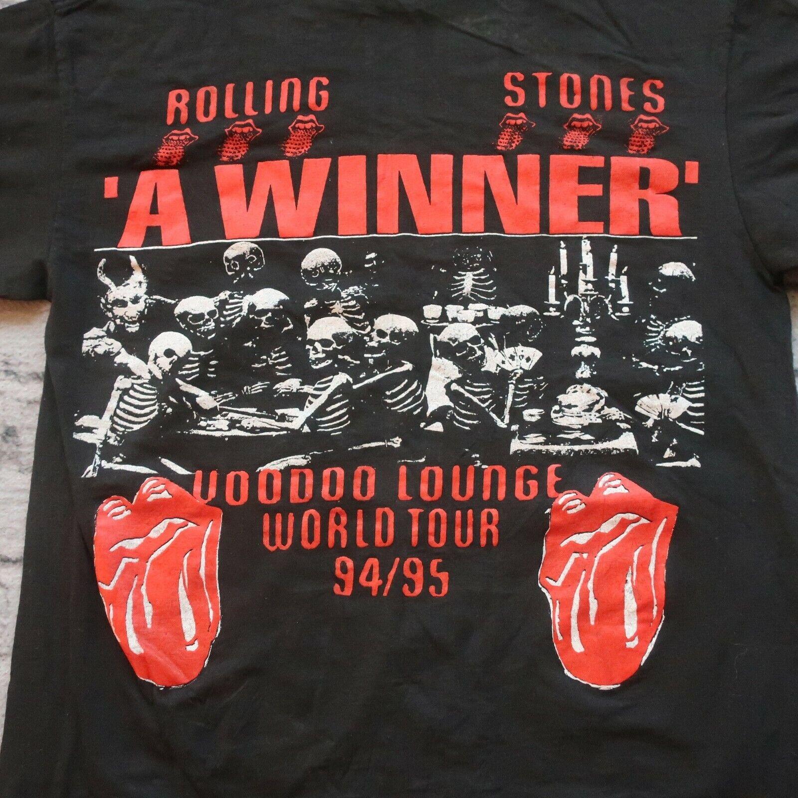 Vintage 90s Rolling Stones Voodoo Lounge Skeleton… - image 2