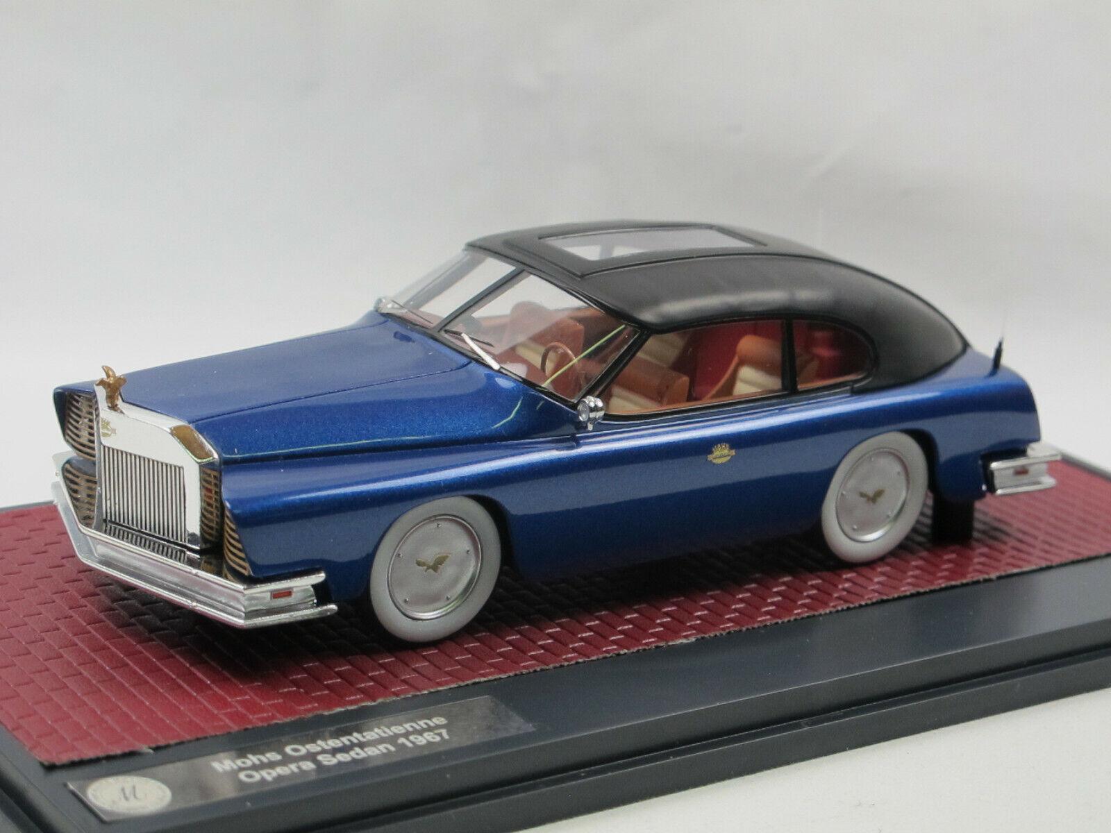 Matrix - modellen 1967 mohs ostentatienne opera sedan prototyp usa Blau 1   43