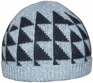 7df57a9a333 Image is loading PAUL-SMITH-100-SCOTTISH-SOFT-WOOL-HAT-BEANIE-