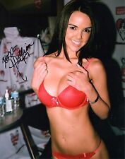 """DILLION HARPER-""""Sexy Adult Star""""-Auth Autographed Photo 2"""