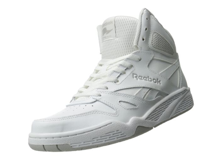Reebok Royal Bb4500 Hi Medium M42661 White Steel Mens US Size 11 UK ... 072d7bef9