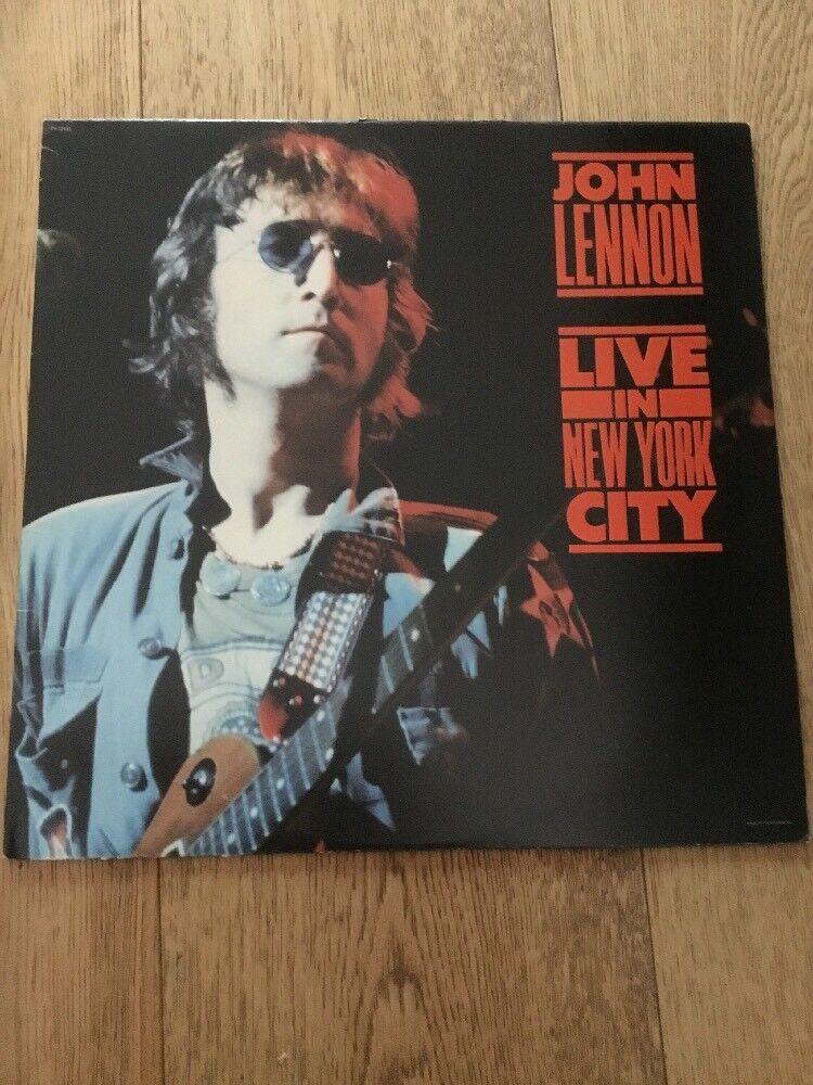 John Lennon Live In New York Lp Capital Records
