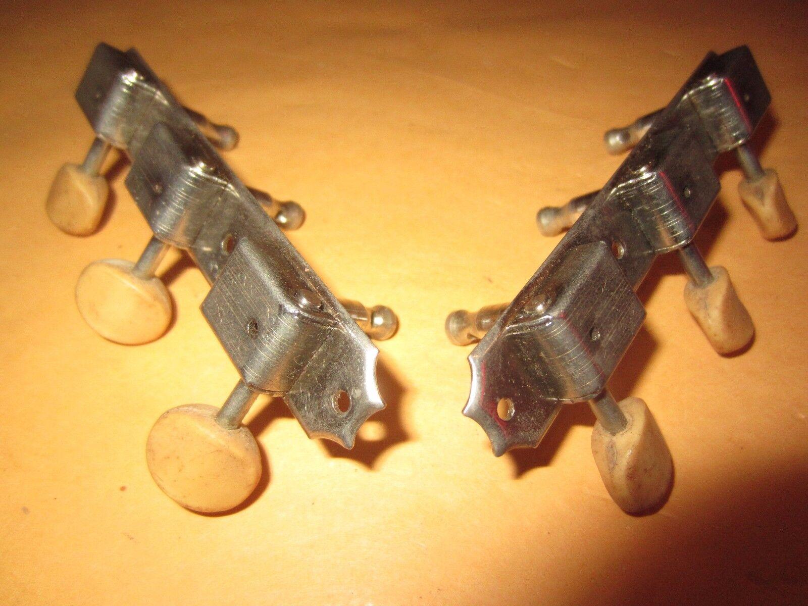 Vintage Circa década década década de 1960 Kluson Guitarra Tuners Tuning de Línea Doble Máquinas Para Gibson  precios al por mayor