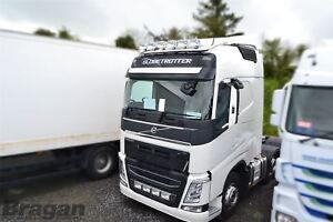 Pour-2013-Volvo-Fh4-Globetrotter-Xl-Acier-Toit-Barre-Lumineuse-Slim-Leds