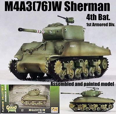 Wwii Us M4a3 76 W Sherman 4th Tank Bat 1st Armored Div 1