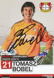 Tomasz-BOBEL-Bayer-04-Leverkusen-Saison-2009-2010-Autogrammkarte